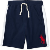 Ralph Lauren French Terry Cotton Shorts, Toddler & Little Boys (2T-7)