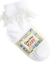 Country Kids Butterfly lace socks 6 months-12 years