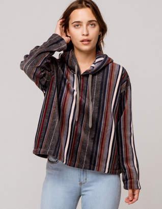 O'Neill Hampton Superfleece Womens Flannel Hoodie