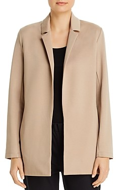 Eileen Fisher Petites Notch-Collar Jacket