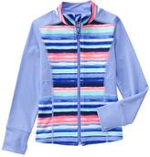 Gymboree Waterbug & Peach Stripe Zip-Up Active Jacket - Girls