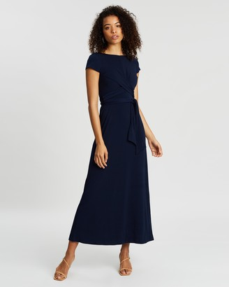 Dorothy Perkins Wrap Tie Maxi Dress