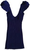 Jean Paul Gaultier Purple Cotton Top for Women