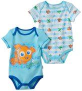 Disney Pixar Finding Nemo Baby Boy 2-pk. Graphic & Print Bodysuits