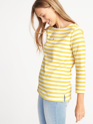Old Navy Relaxed Mariner-Stripe French-Terry Top for Women