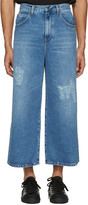 J.W.Anderson Blue Loose Fit Jeans