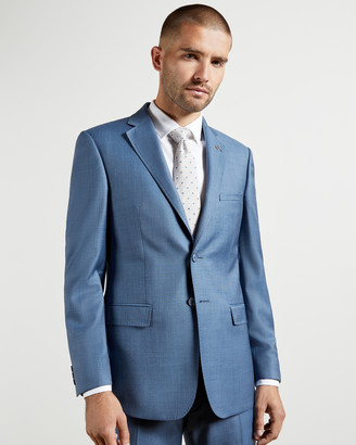 Ted Baker HECTORJ Debonair sharkskin wool suit jacket