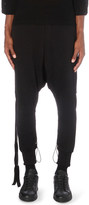 Unravel Terry cotton-jersey jogging bottoms