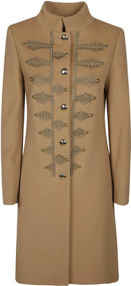 Blumarine Embroidered Coat