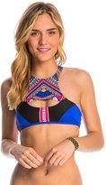 Rip Curl Swimwear Sun Warrior High Neck Crop Bikini Top 8144891
