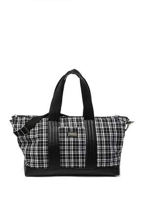 Madden-Girl Plaid Weekend Bag