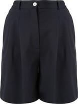 Harris Wharf London pleated bermuda shorts