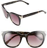 Ted Baker Women's 52Mm Metal Accent Sunglasses - Black