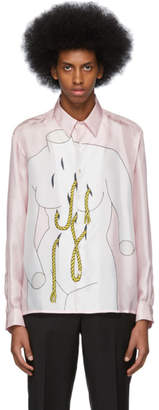 Daniel W. Fletcher Pink Silk Caitlin Shirt