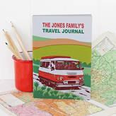 Sukie Personalised Campervan Travel Journal