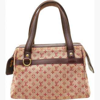 Louis Vuitton Burgundy Suede Handbags