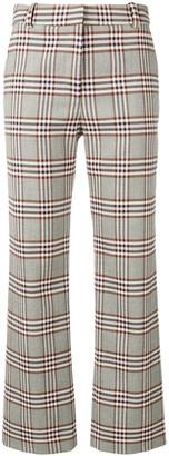Derek Lam 10 Crosby Plaid Trousers