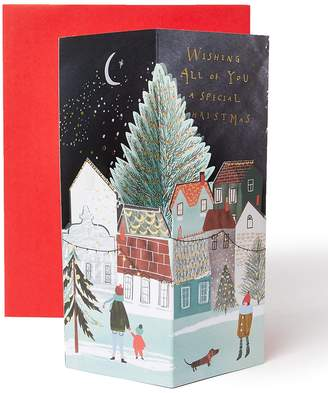 Marks and Spencer Pop-up Christmas Charity Card for All of You