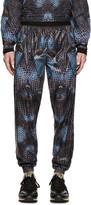 Marcelo Burlon County of Milan Black & Blue Potosi Lounge Pants