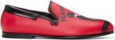 Dolce & Gabbana Red Mambo Loafers