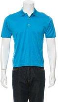 Charvet Woven Polo Shirt