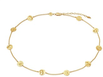 Missoma Lucy Williams Gold Legion Coin Choker
