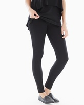 Soma Intimates Lounge Black Leggings Black