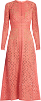 Elie Saab Long-sleeved lace dress