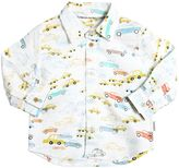 Paul Smith Cars Printed Cotton Oxford Shirt