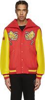 Opening Ceremony Red China Global Varsity Jacket