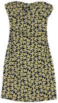 Diane von Furstenberg Black & Yellow Dress