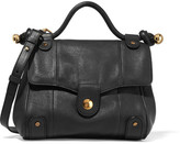 See by Chloe Dixie Textured-leather Shoulder Bag - Black