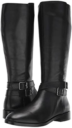 Aerosoles Martha Stewart Julia (Black Leather) Women's Boots