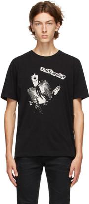 Saint Laurent Black Graphic T-Shirt