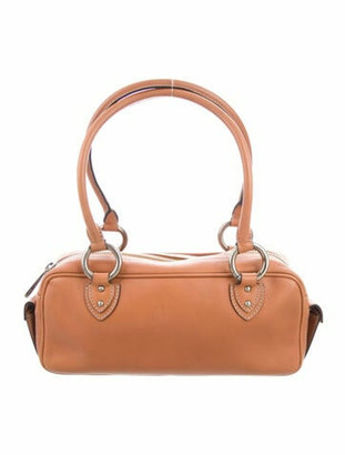 Marc Jacobs Leather Shoulder Bag Brown