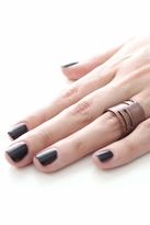 Luv Aj Tall Cut-Out Ring in Copper Ox
