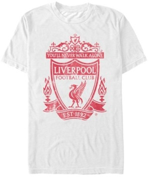 Liverpool Football Club Men's Walk On Reds Short Sleeve T-Shirt