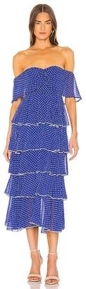 Lovers + Friends Highland Midi Dress