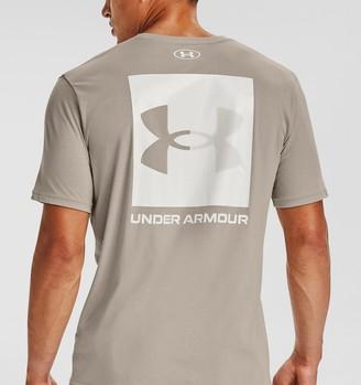 Under Armour Men's UA Box Logo Short Sleeve
