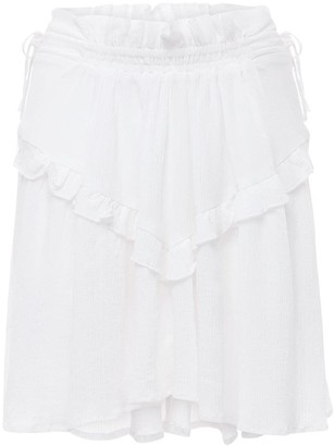 Etoile Isabel Marant Itelo Cotton & Viscose Mini Skirt