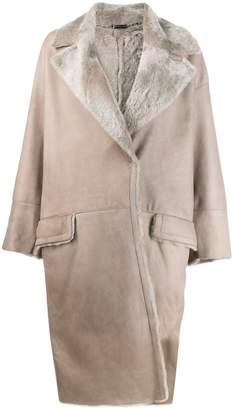 Manzoni 24 oversized trench coat