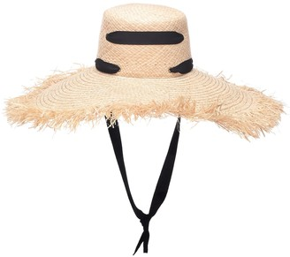 Lola Hats Alpargatas raffia hat