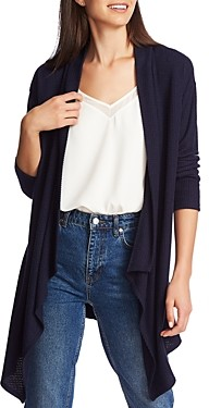 1 STATE 1.State 1.state Brushed Drape-Front Open Cardigan