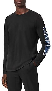 AllSaints Long Sleeve Logo Tee
