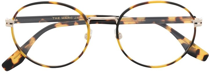 Marc Jacobs Round Tortoiseshell Glasses