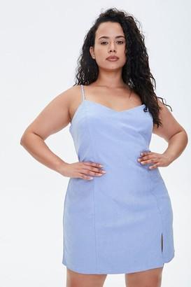 Forever 21 Plus Size Princess Cami Mini Dress