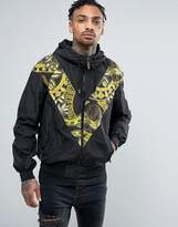 Versace Lightweight Jacket With Chevron Print
