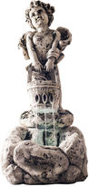 TRADEMARK HOME Navarro Cherub LED Outdoor Fountain