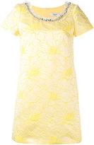 Blugirl embellished jacquard dress - women - Cotton/Acrylic/Acetate - 42