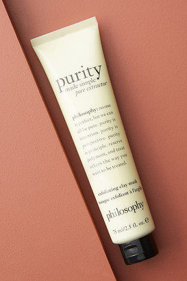 philosophy Purity Made Simple Pore Extractor Mask By in Yellow Size ALL